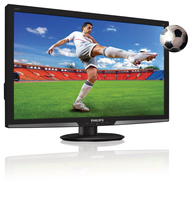 Philips Monitor LCD 3D, retroilluminazione a LED 273G3DHSB/01