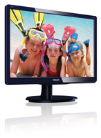 "Philips 190V4LSU/93 19"" Blu monitor piatto per PC"