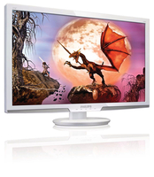 "Philips 273E3LSW/93 27"" Full HD Bianco monitor piatto per PC"
