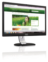 "Philips Brilliance 231P4QRYEB/93 23"" Full HD IPS Nero monitor piatto per PC LED display"