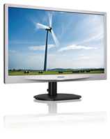 "Philips Brilliance 220S4LSS/93 22"" HD Lucida Nero, Argento monitor piatto per PC LED display"