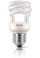 Philips Tornado 871829111708700 8W E27 A Bianco caldo lampada fluorescente energy-saving lamp