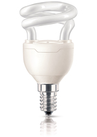 Philips Tornado 871829111690500 5W E14 A Bianco caldo lampada fluorescente energy-saving lamp