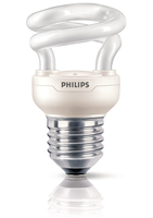 Philips Tornado 871829111682000 5W E27 A Bianco caldo lampada fluorescente energy-saving lamp