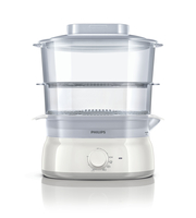 Philips Daily Collection HD9115/10 2cestello/i 900W Bianco pentola a vapore