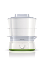 Philips Daily Collection HD9104/00 2cestello/i 900W Verde, Bianco pentola a vapore