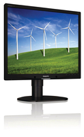 "Philips Brilliance 19B4LPCB/27 19"" HD LCD/TFT Nero monitor piatto per PC LED display"