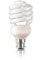 Philips 872790092972001 23W B22 A Bianco caldo lampada fluorescente energy-saving lamp