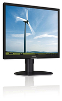 "Philips Brilliance 19S4LMB/00 19"" HD LCD/TFT Nero monitor piatto per PC LED display"
