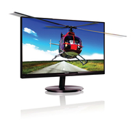 "Philips Brilliance 224G5DSD/93 21.5"" Full HD AH-IPS Compatibilità 3D Nero, Ciliegio monitor piatto per PC LED display"
