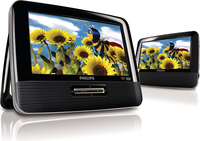 "Philips PD7012P/37 7"" 480 x 234Pixel lettore DVD/Blu-Ray portatile"