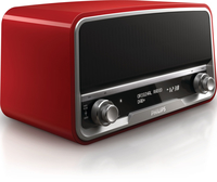 Philips ORT7500/10 Digitale Rosso radio