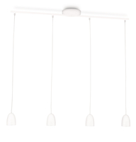Philips myLiving 409223116 Supporto flessibile 4W LED Bianco lampada a sospensione