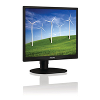 "Philips Brilliance 19B4LCB5/27 19"" HD LCD/TFT Nero monitor piatto per PC"