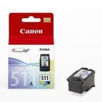 Canon CL-511 Ink Cartridge Ciano, Giallo cartuccia d