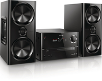 Philips BTD3180/51 Home audio micro system 150W Nero set audio da casa