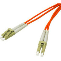 C2G 10m LC/LC Plenum-Rated Duplex 50/125 Multimode Fiber Patch Cable - Orange 10m LC LC Arancione cavo a fibre ottiche