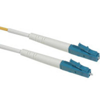 C2G 10m LC/LC Plenum-Rated Simplex 9/125 Single-Mode Fiber Patch Cable - Yellow 10m LC LC Giallo cavo a fibre ottiche