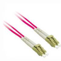 C2G 10m LC/LC Plenum-Rated Duplex 50/125 Multimode Fiber Patch Cable 10m Rosso cavo a fibre ottiche