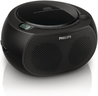 Philips AZ100B/79 Portable CD player Nero CD player