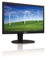 "Philips Brilliance 220B4LPYCB/75 22"" HD LCD/TFT Nero monitor piatto per PC LED display"