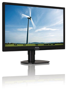 "Philips Brilliance 220S4LCB/75 22"" HD LCD/TFT Nero monitor piatto per PC LED display"