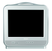 "Philips 15PT1767/01 15"" Argento TV CRT"