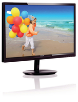 "Philips 284E5QSD/01 28"" Full HD MVA Nero, Ciliegio monitor piatto per PC LED display"