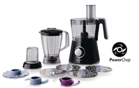 Philips Viva Collection HR7762/92 750W 2.1L Nero robot da cucina
