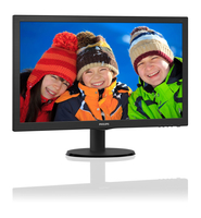 Philips Monitor LCD con SmartControl Lite 243V5QHAB/00