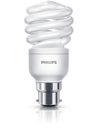 Philips Economy 8718291656852 15W B22 A Bianco caldo lampada fluorescente energy-saving lamp