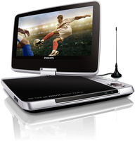 Philips TV digitale e lettore DVD portatile PD9025/12
