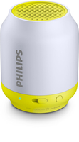 Philips BT50L/00 Mono portable speaker 2W Argento, Giallo altoparlante portatile