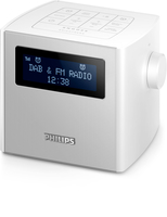 Philips AJB4300W/12 Orologio Digitale Argento radio