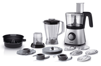 Philips Viva Collection HR7769/01 850W 2.1L Nero, Acciaio inossidabile robot da cucina
