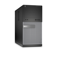 DELL OptiPlex 7020 3.6GHz i3-4160 Mini Tower Nero, Argento PC