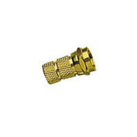 C2G RG59 F-type Twist-on Connector Gold connettore coassiale