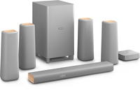 Philips CSS5530G/12 5.1canali 420W Argento sistema home cinema