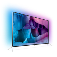 "Philips 7600 series 55PUS7600/60 55"" 4K Ultra HD Compatibilità 3D Smart TV Wi-Fi Nero, Argento LED TV"