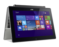 "Acer Aspire Switch 11 SW5-173-62J8 0.8GHz M-5Y10c 11.6"" 1920 x 1080Pixel Touch screen Nero, Argento Ibrido (2 in 1)"