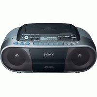Sony CFD-S03CP Portable CD player Argento