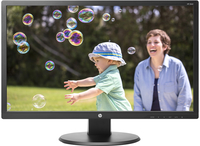 "HP 24uh 24"" Full HD TN Opaco Nero monitor piatto per PC"