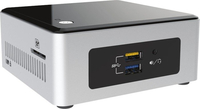 Intel NUC5PGYH 1.6GHz N3700 Mini PCI Nero, Argento Mini PC