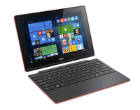 "Acer Aspire Switch 10 E SW3-013-148S 1.33GHz Z3735F 10.1"" 1280 x 800Pixel Touch screen Nero, Rosso Ibrido (2 in 1)"