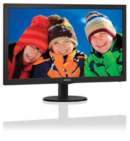 "Philips 273V5QHAB/75 27"" Full HD AMVA+ (SNB) Nero monitor piatto per PC LED display"
