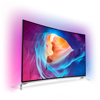 "Philips 8700 series 55PUS8700/60 55"" 4K Ultra HD Compatibilità 3D Smart TV Wi-Fi Nero, Argento LED TV"