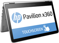 "HP Pavilion x360 13-s100nl 2.3GHz i3-6100U 13.3"" 1366 x 768Pixel Touch screen Argento Ibrido (2 in 1)"