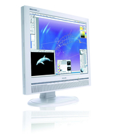 "Philips Brilliance 200P6IG/00 20.1"" Bianco monitor piatto per PC"