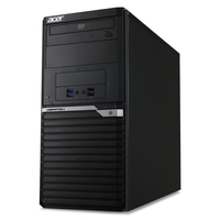 Acer Veriton M4640G + 5YR, Carry-in 3.4GHz i7-6700 Mini Tower Nero PC