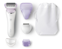 Philips SatinShave Prestige BRL170/00 1testina/e Trimmer Bianco rasoio da donna